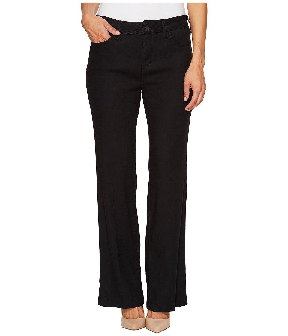 NYDJ Petite - Petite Wylie Trousers in Black (Black) Women's Jeans
