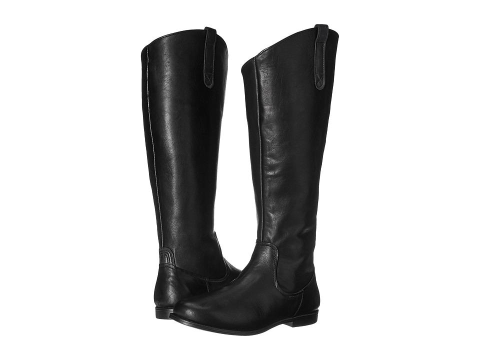 Sebago Plaza Tall Boot (Black Leather) Women