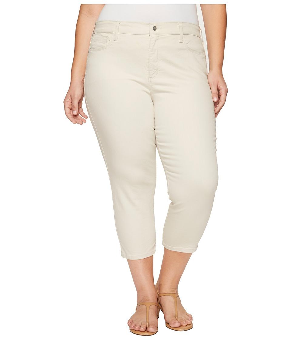 NYDJ Plus Size - Plus Size Alina Capris in Clay (Clay) Women's Jeans