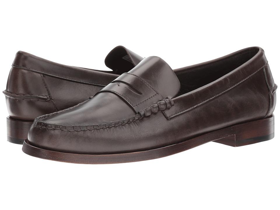 Sebago Legacy Penny (Dark Grey Leather) Men