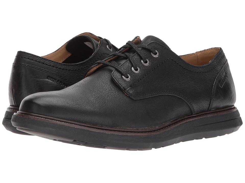 Sebago Smyth Plain Toe (Black Leather) Men