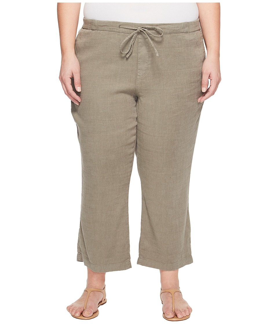 NYDJ Plus Size - Plue Size Drawstring Ankle Pants in Sergeant Olive (Sergeant Olive) Women's Jeans