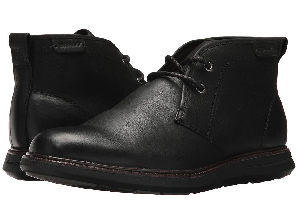 Sebago Smyth Chukka (Black Leather) Men