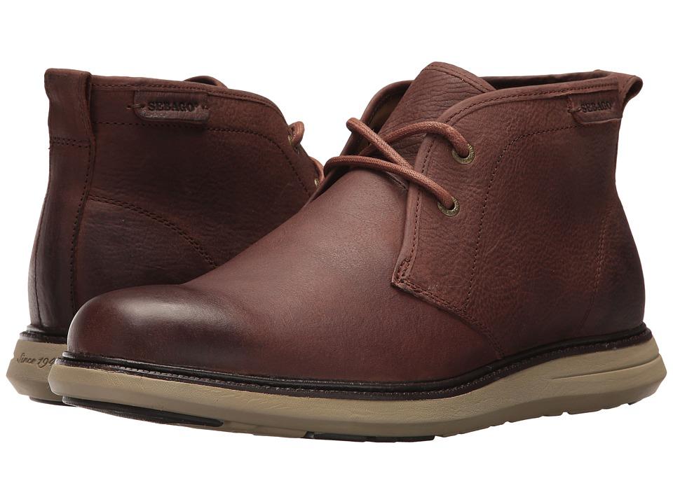 Sebago Smyth Chukka (Brown Leather) Men