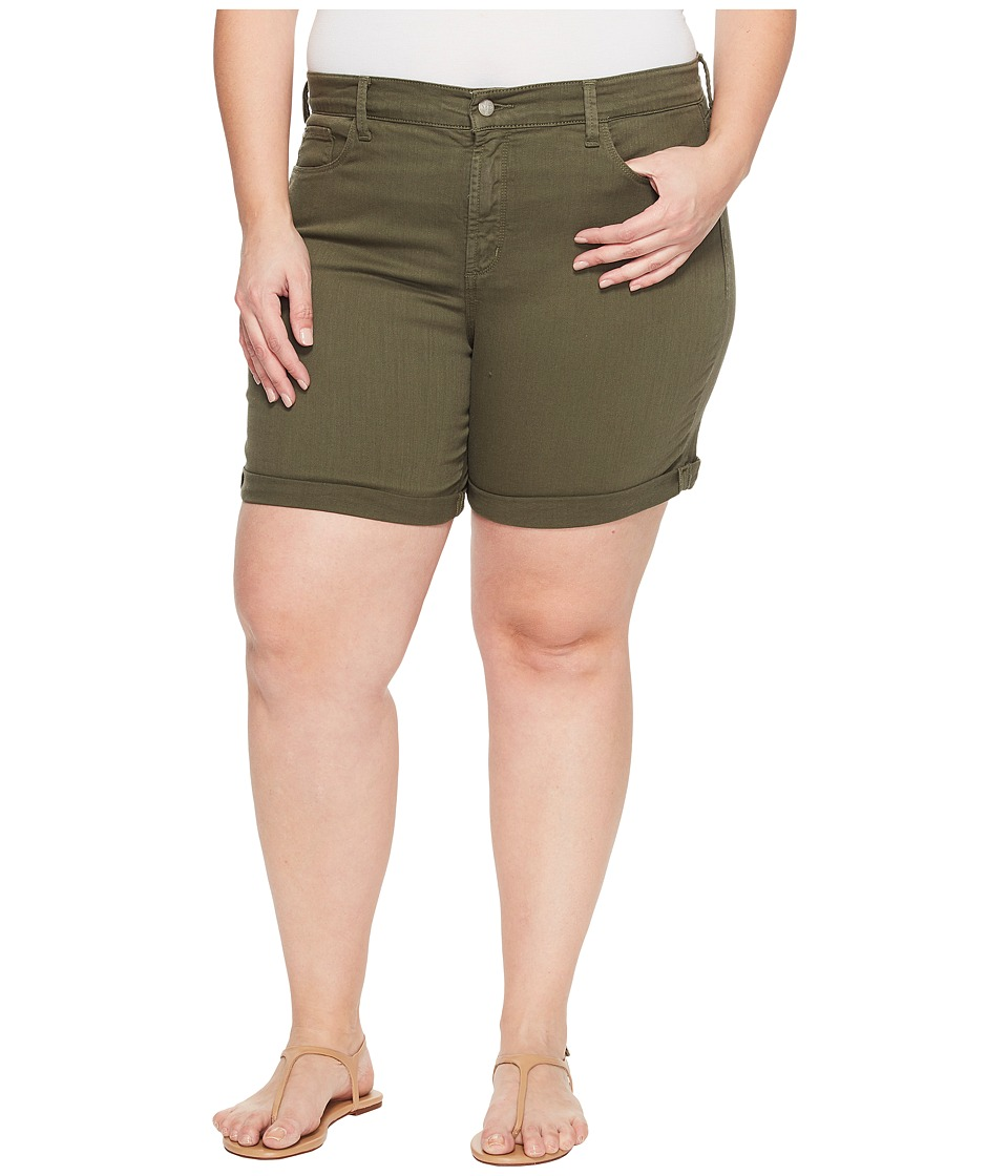 NYDJ Plus Size - Plue Size Avery Shorts in Topiary (Topiary) Women's Shorts