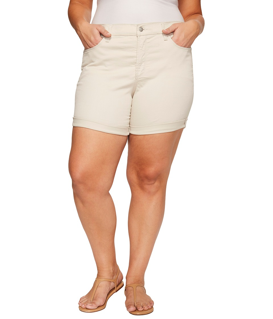 NYDJ Plus Size - Plue Size Avery Shorts in Clay (Clay) Women's Shorts