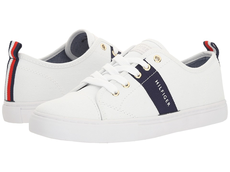 Tommy Hilfiger - Lancer 2 (White/Marine) Women's Shoes