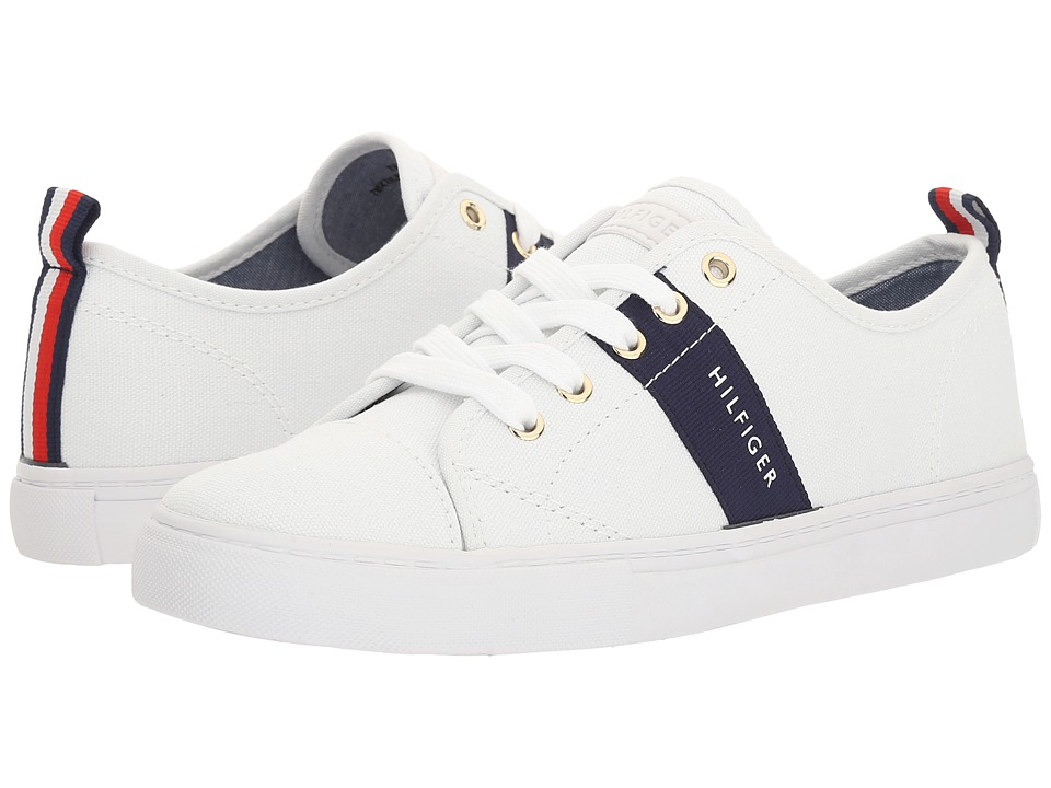 Tommy Hilfiger - Lancer (White) Women's Shoes