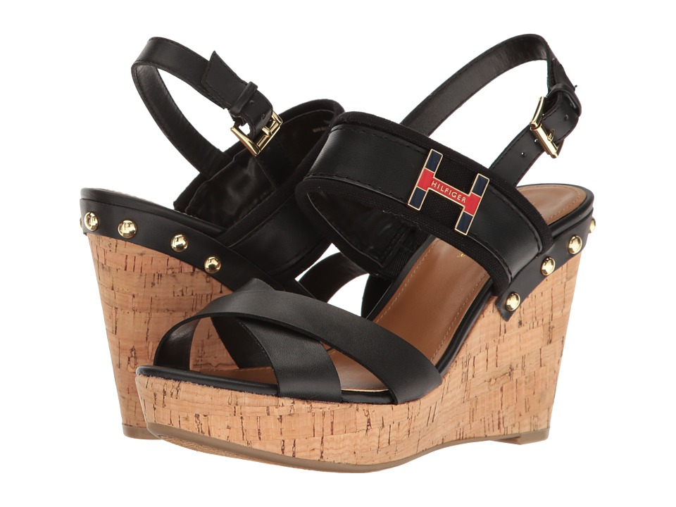 Tommy Hilfiger - Movie (Black/Black) Women's Shoes