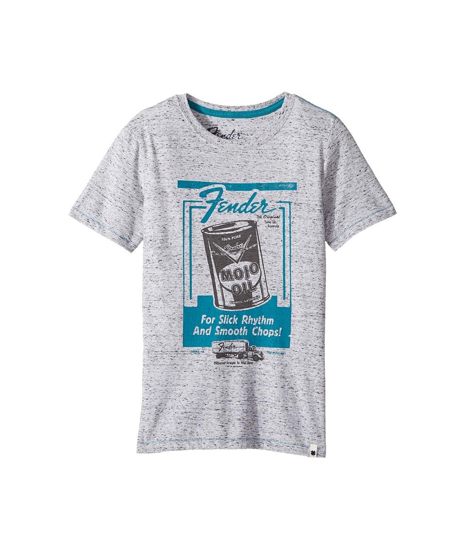Lucky Brand Kids - Slick Fender Tee (Big Kids) (Heather Light) Boy's T Shirt