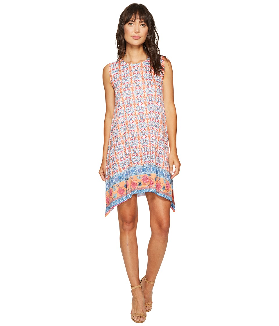 Nally & Millie - Border Print Dress (Multi) Women's Dress