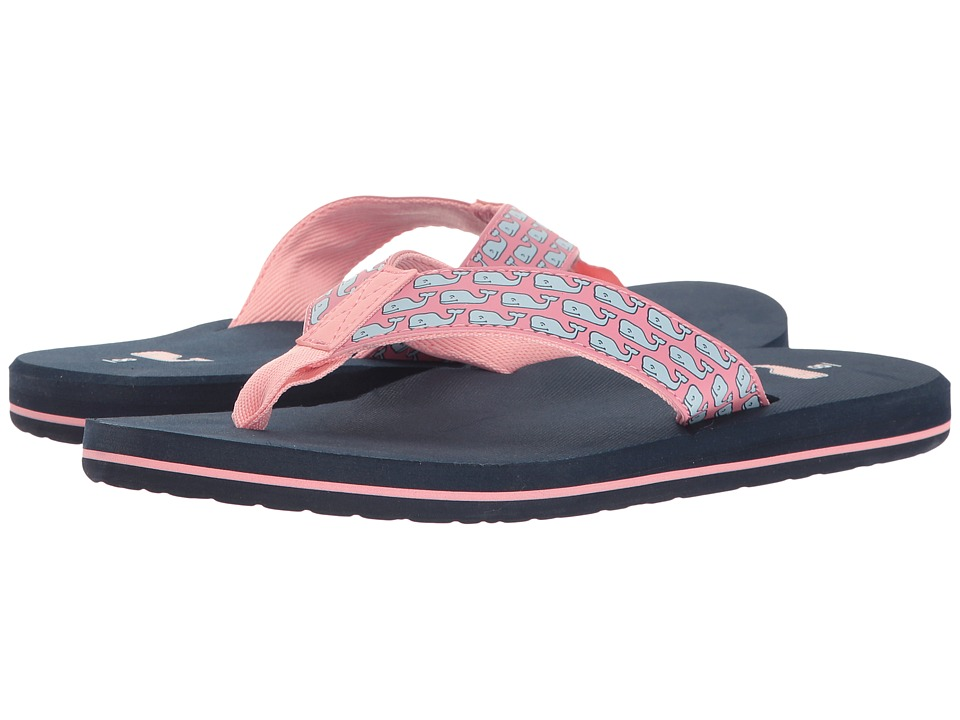 Vineyard Vines - VV Whale Classic Flipflop (Vineyard Navy) Women's Shoes