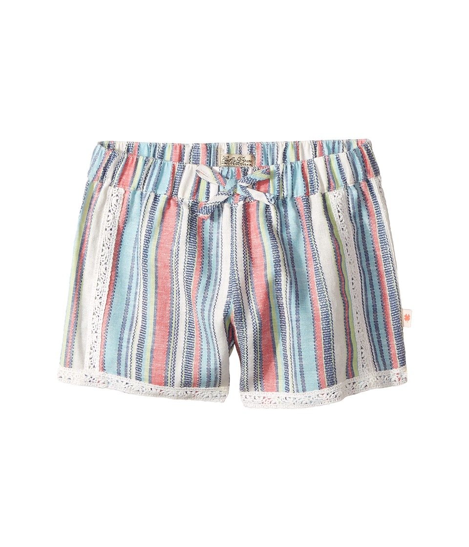 Lucky Brand Kids - Soft Shorts (Big Kids) (Bright White) Girl's Shorts