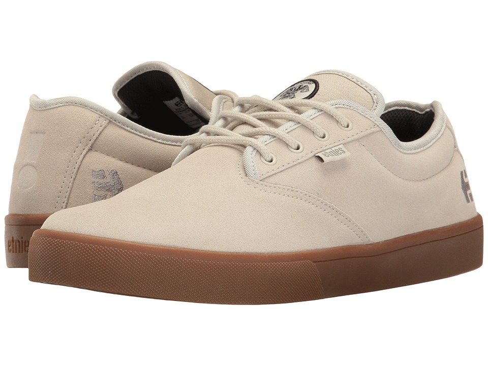 etnies - Jameson SL X Flip (White/Gum) Men's Skate Shoes