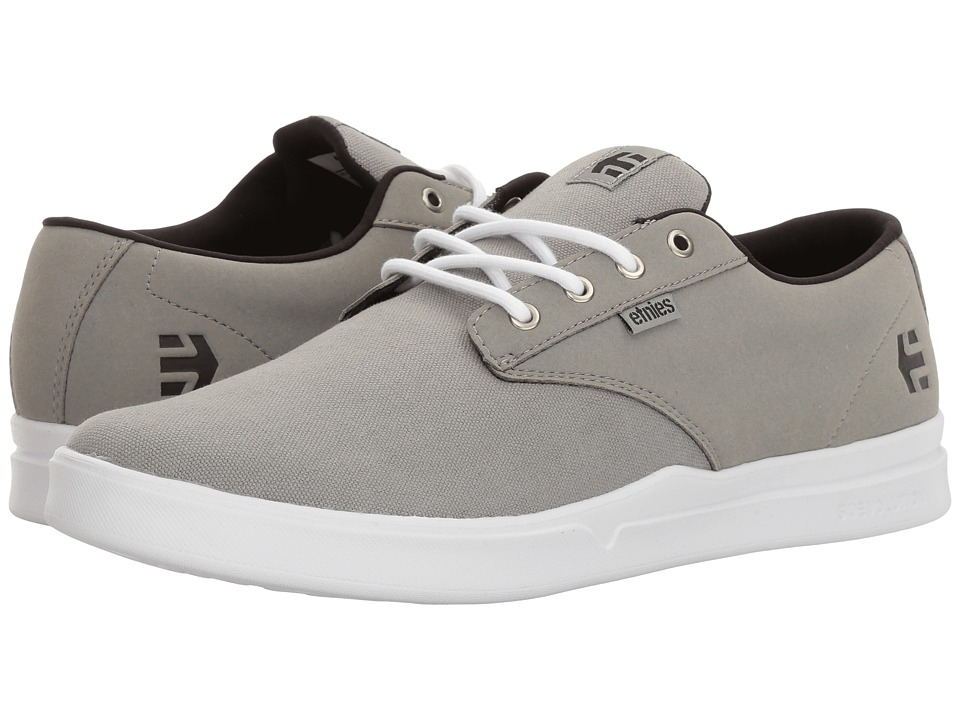 etnies - Jameson SC (Grey/Black/White) Men's Skate Shoes