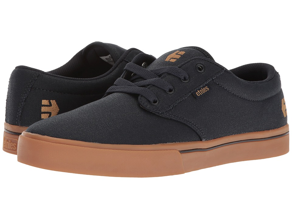 etnies - Jameson 2 Eco (Navy/Tan) Men's Skate Shoes