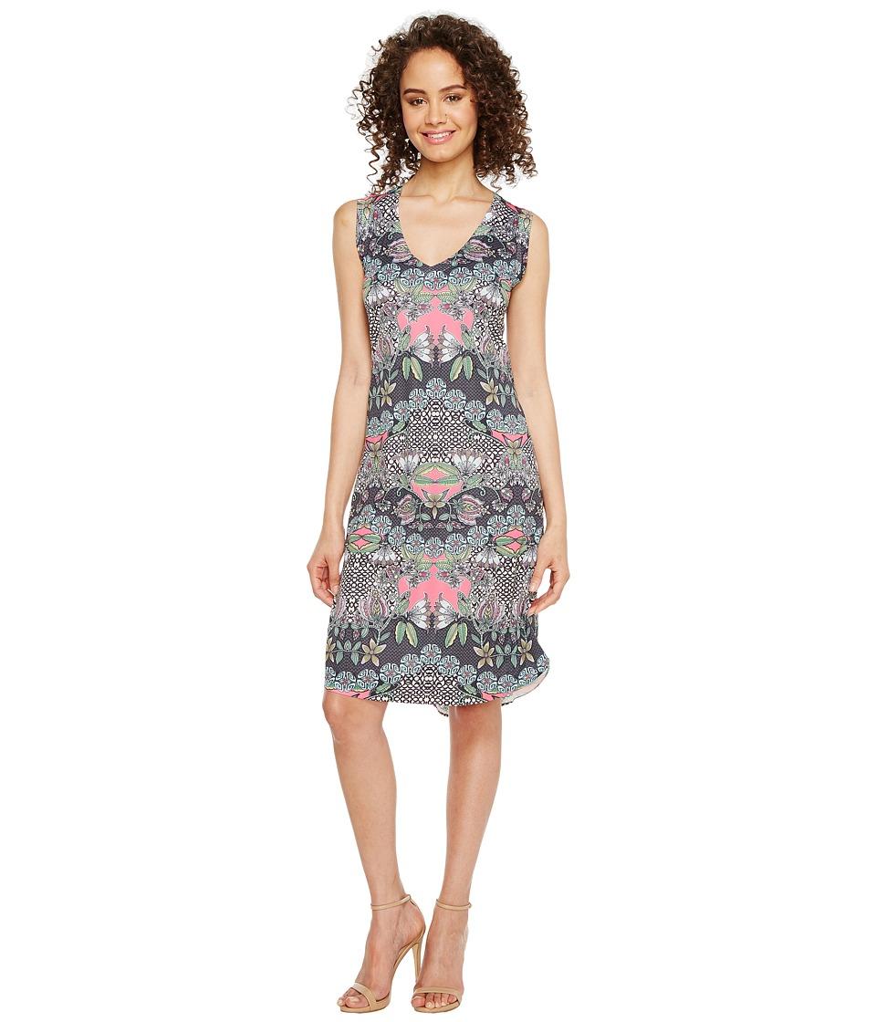 Nally & Millie - Floral Print Dress (Multi) Women's Dress