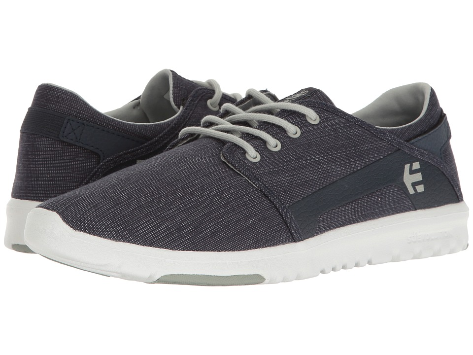etnies - Scout (Blue/Grey/Navy) Men's Skate Shoes