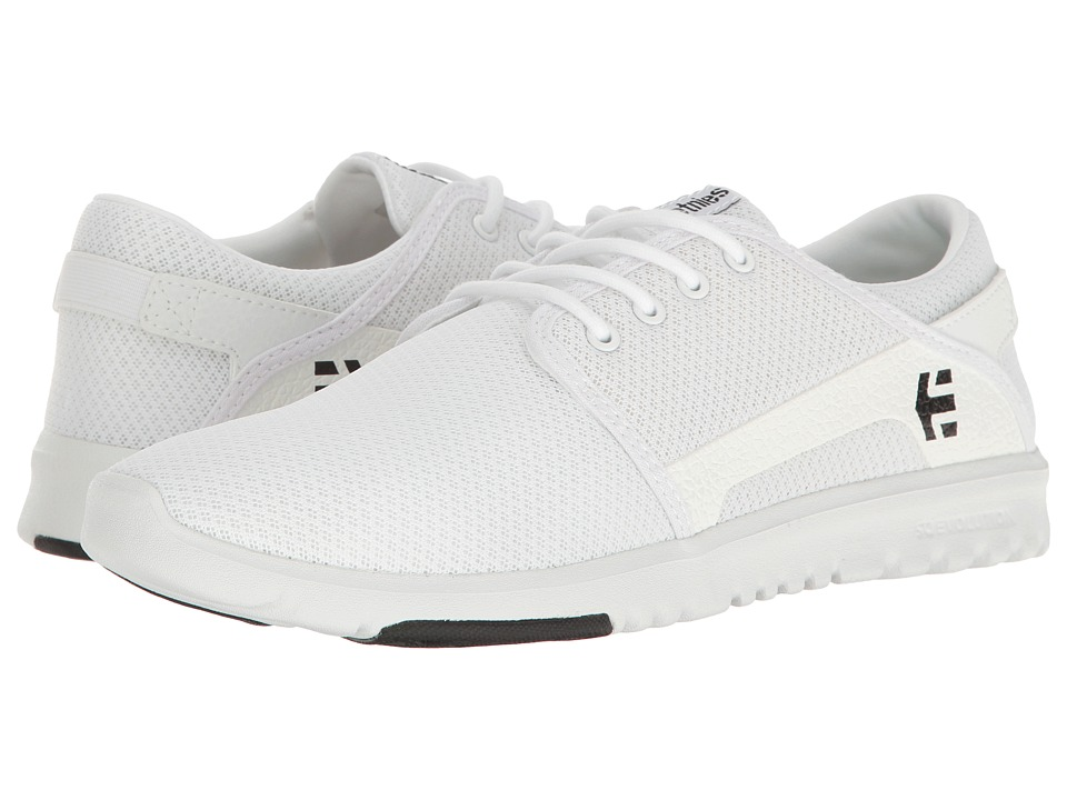 etnies - Scout (White/Black) Men's Skate Shoes