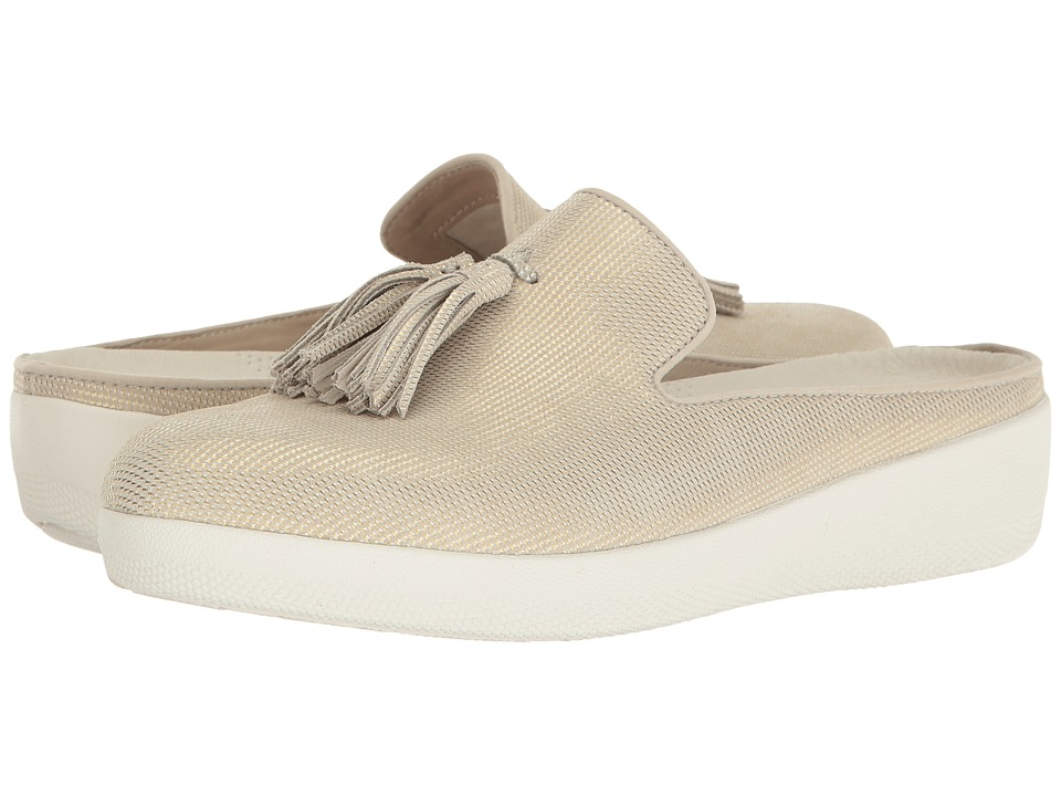 FitFlop - Houndstooth Print Superskate Slip-On (Cream) Women's Shoes