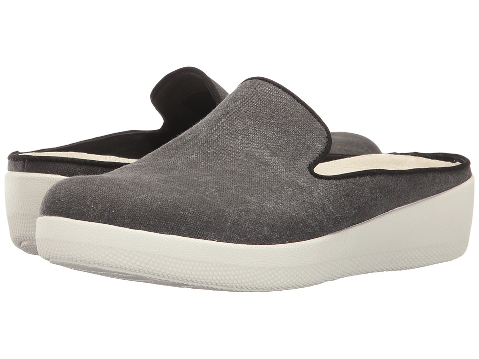 FitFlop - Superskate Slip-Ons (Black) Women's Shoes