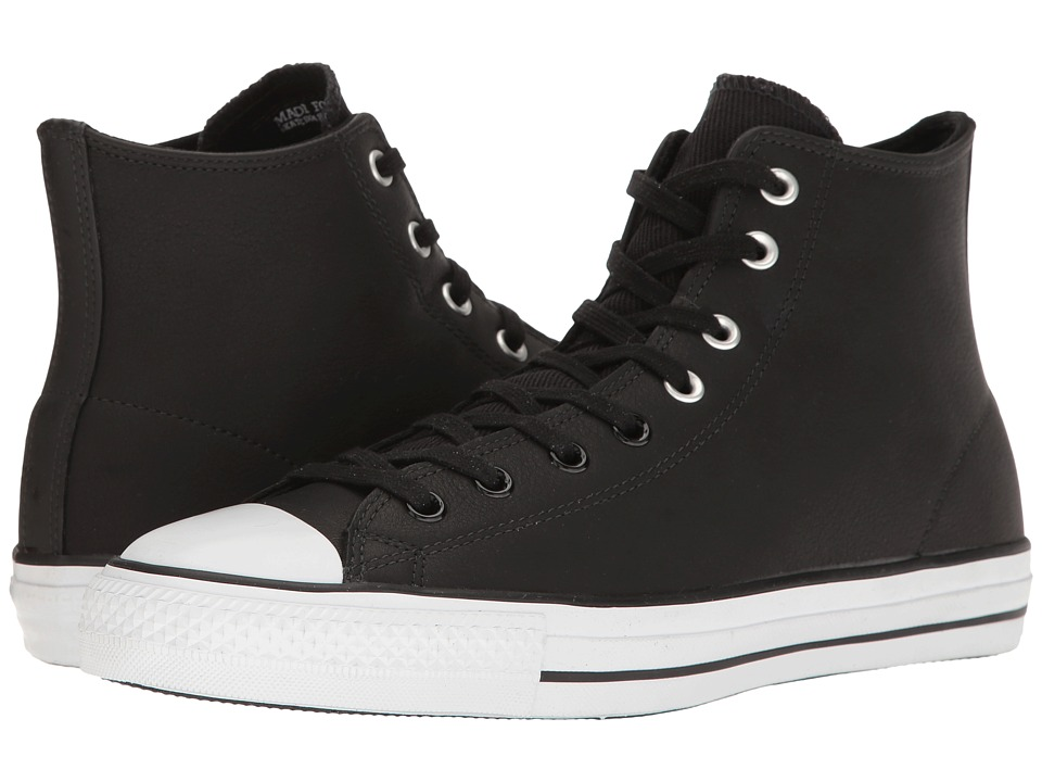 Converse - Chuck Taylor All Star Pro Hi (Black/White/Black) Shoes