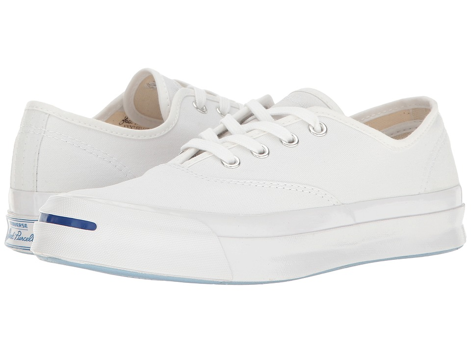 Converse - Jack Purcell Signature CVO Ox (White/White/White) Shoes