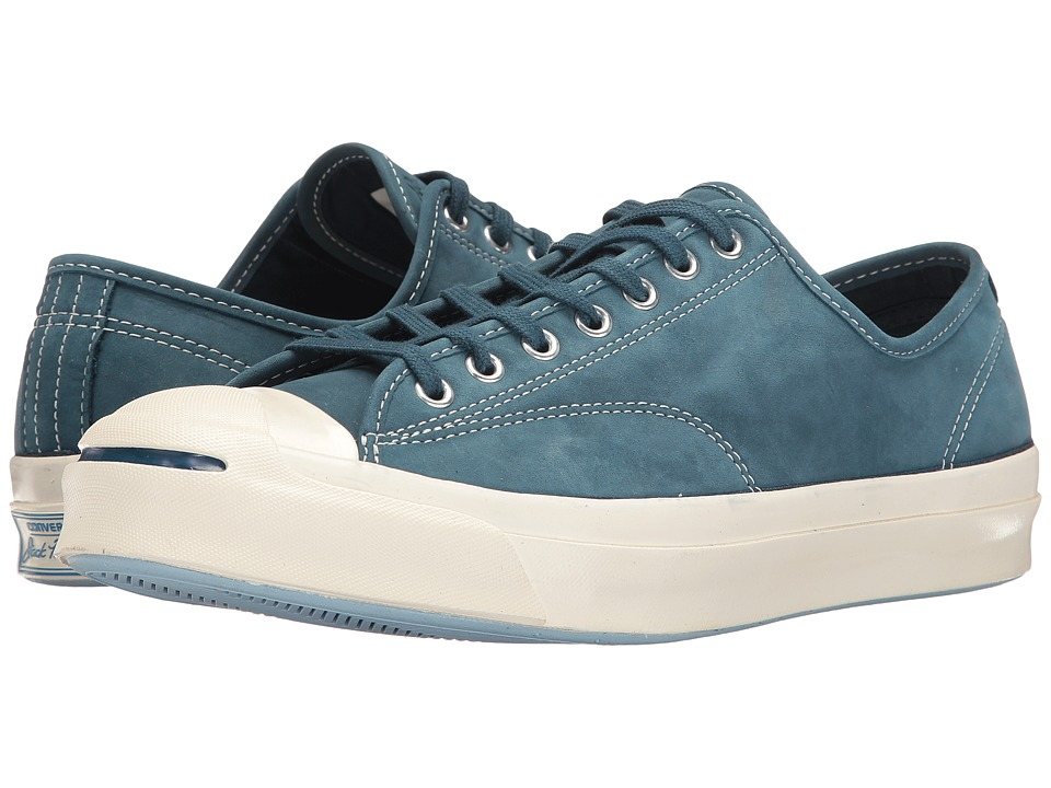 Converse - Jack Purcell Signature Ox (Blue Fir/Egret/Egret) Shoes