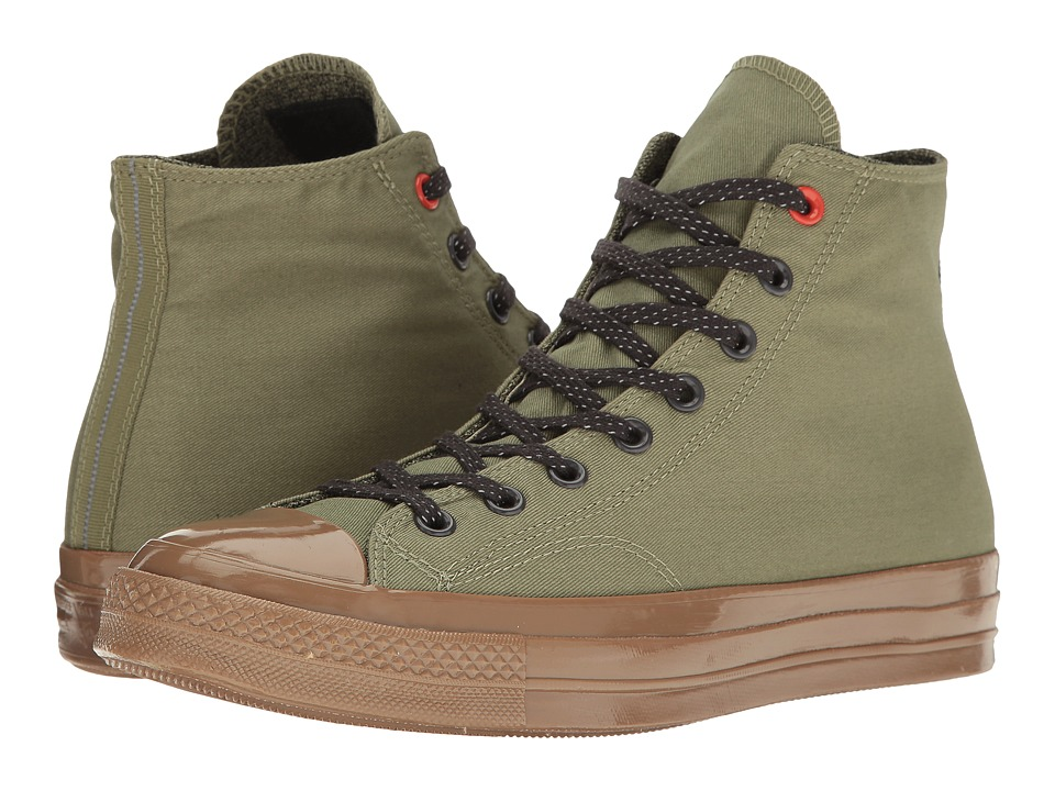 Converse Chuck Taylor All Star 70 Hi (Fatigue Green/Almost Black) Shoes