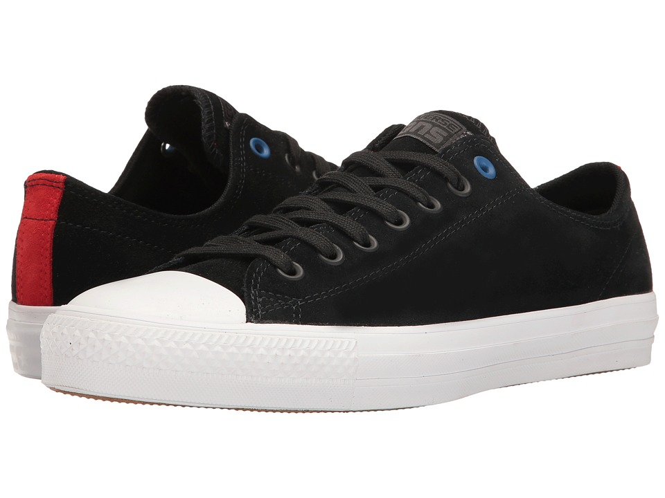 Converse - Chuck Taylor All Star Pro Ox (Black/Black/White) Shoes