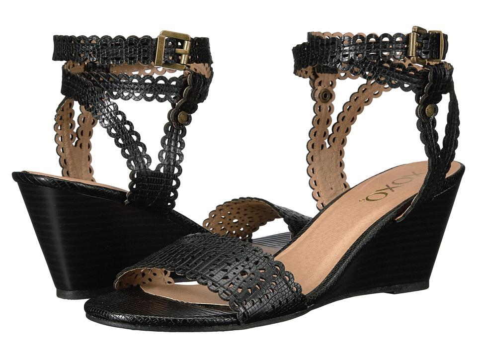 XOXO - Sissy (Black) Women's Shoes