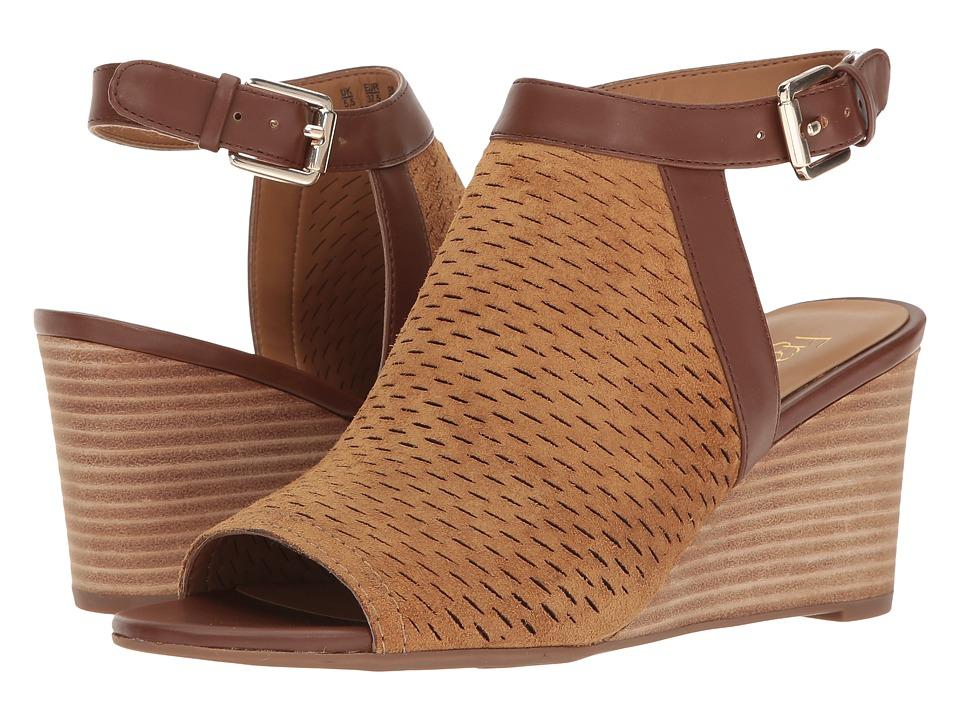 Franco Sarto - Martha (Dark Camel) Women's Shoes