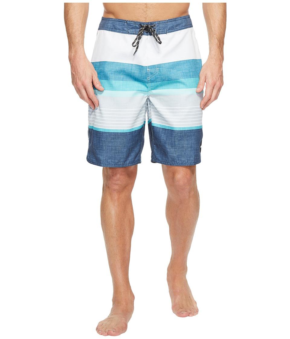 Rip Curl - Happyhour Boardshorts (Teal) Men's Swimwear