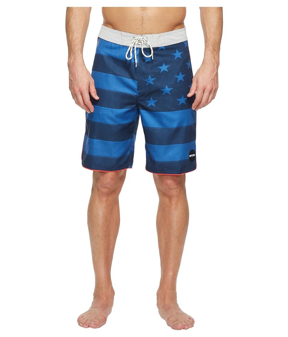 Rip Curl - Freestate Boardshorts (Navy) Men's Swimwear