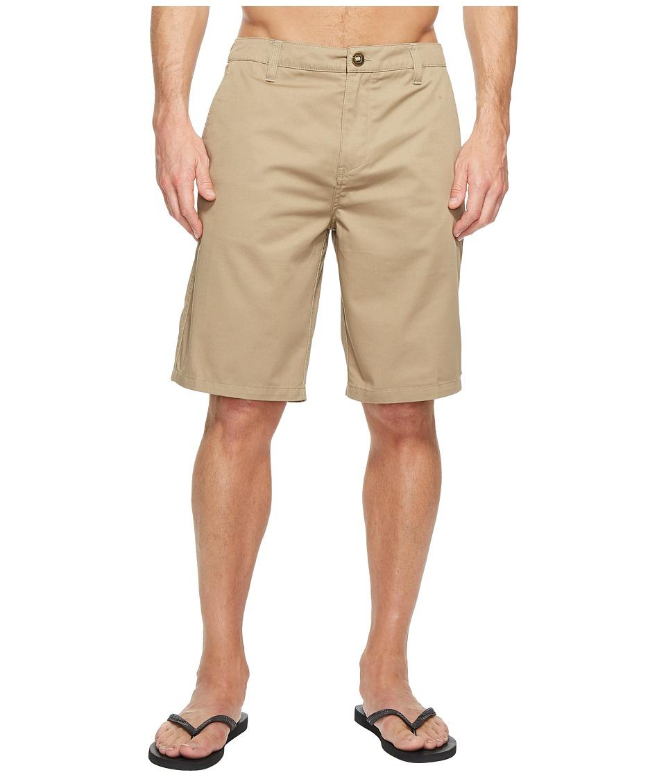 Rip Curl - Passenger Walkshorts (Khaki) Men's Shorts