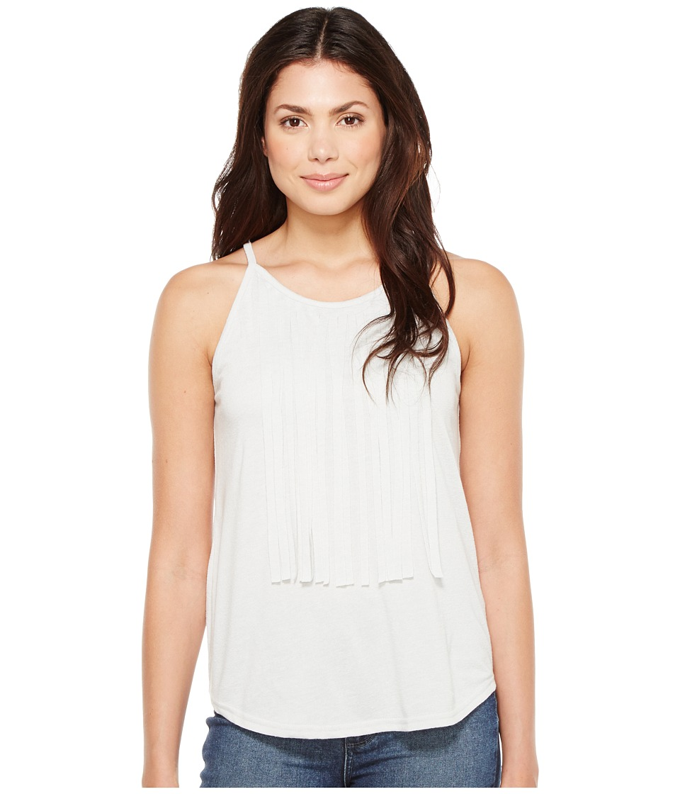 Roper - 1134 Poly Rayon Knit Flowy Tank Top (Grey) Women's Sleeveless