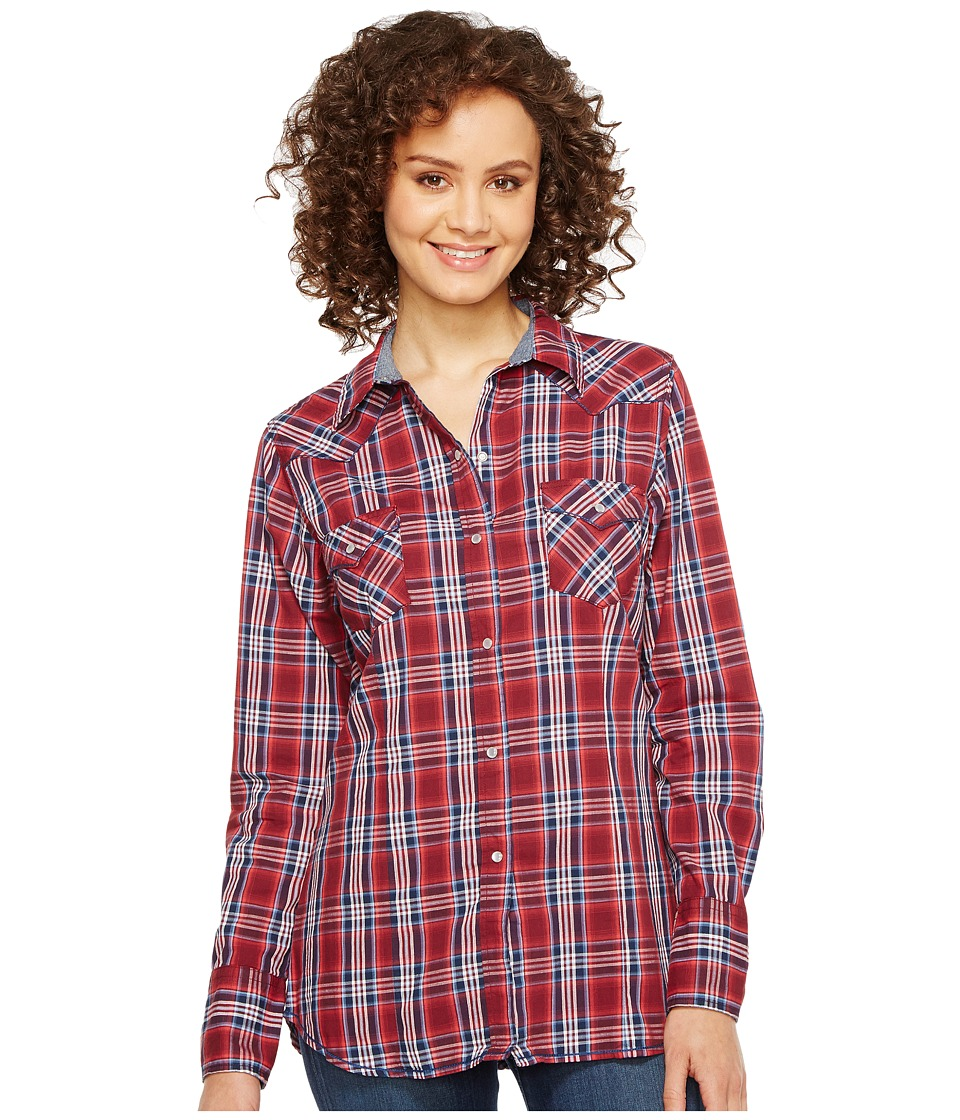 Roper - 0997 Anthem Plaid (Red) Women's Clothing
