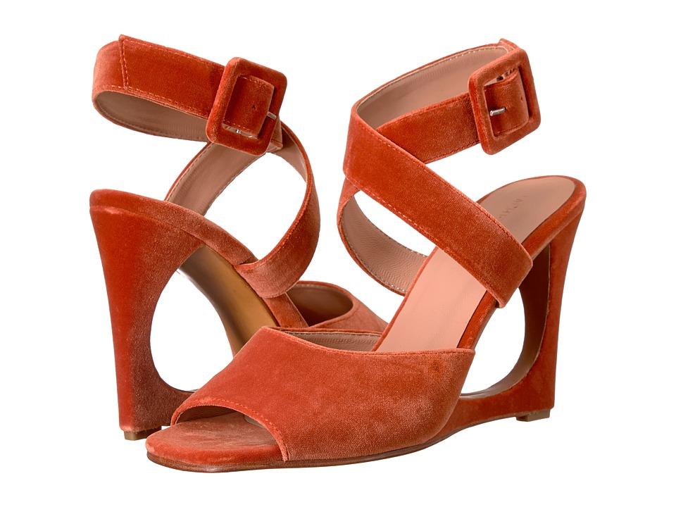 Rachel Comey - Meda (Salmon Velvet) Women's Sandals
