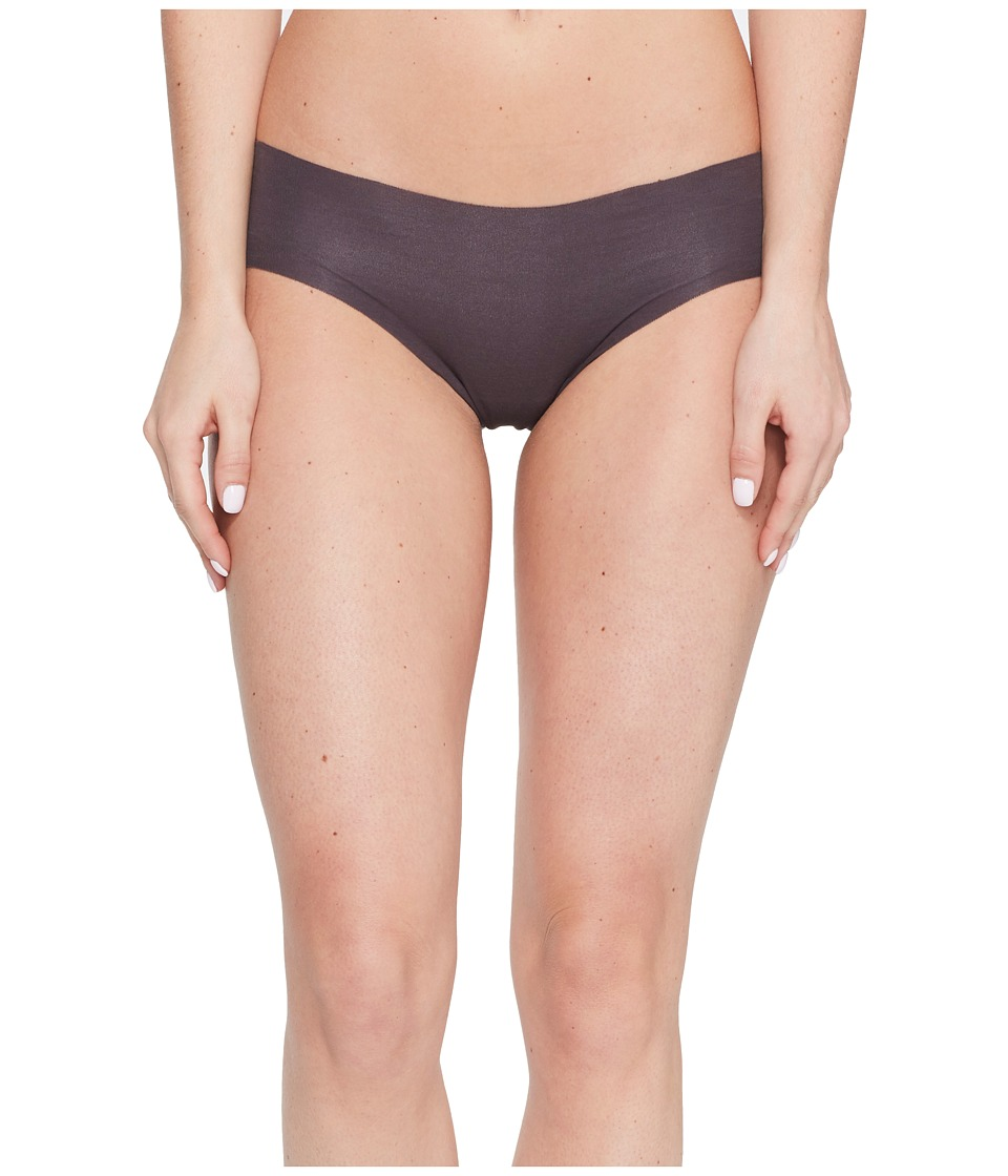 Hanro - Invisible Cotton Hi-Cut Brief (Mahogany) Women's Underwear