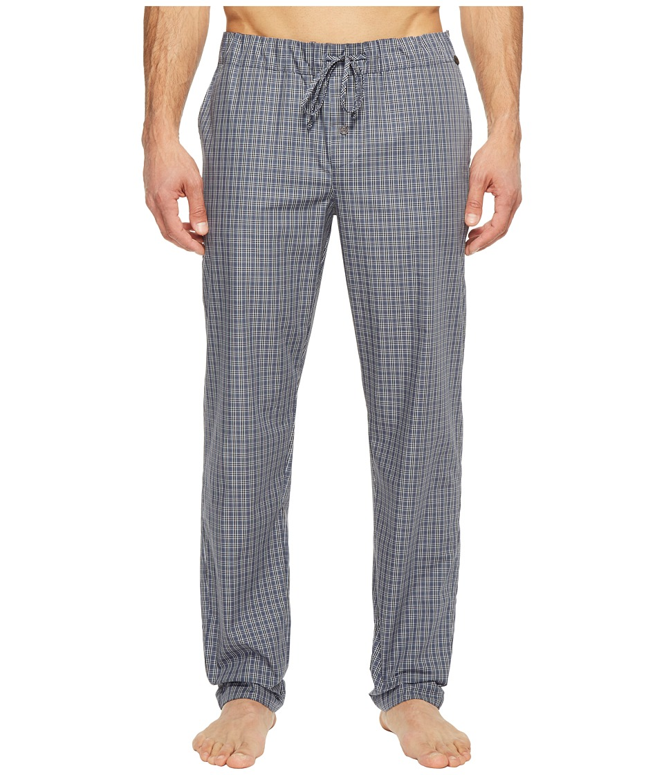 Hanro - Night and Day Woven Lounge Pants (Grey Check) Men's Pajama