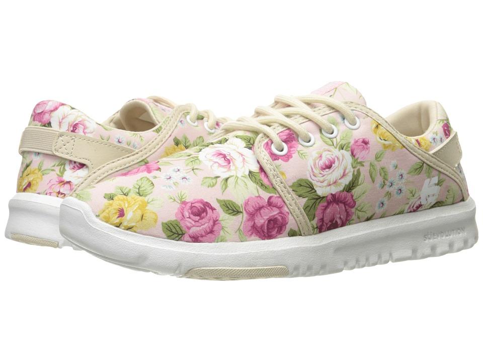 etnies - Scout (White/Fuchsia) Women's Skate Shoes