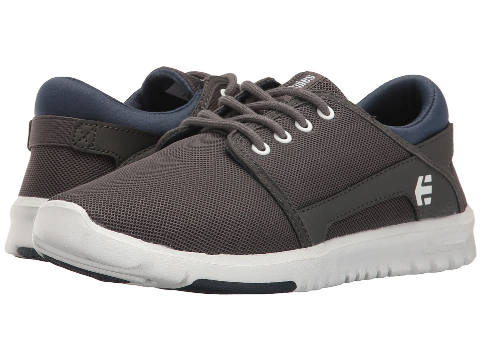 etnies - Scout (Grey/Navy) Women's Skate Shoes