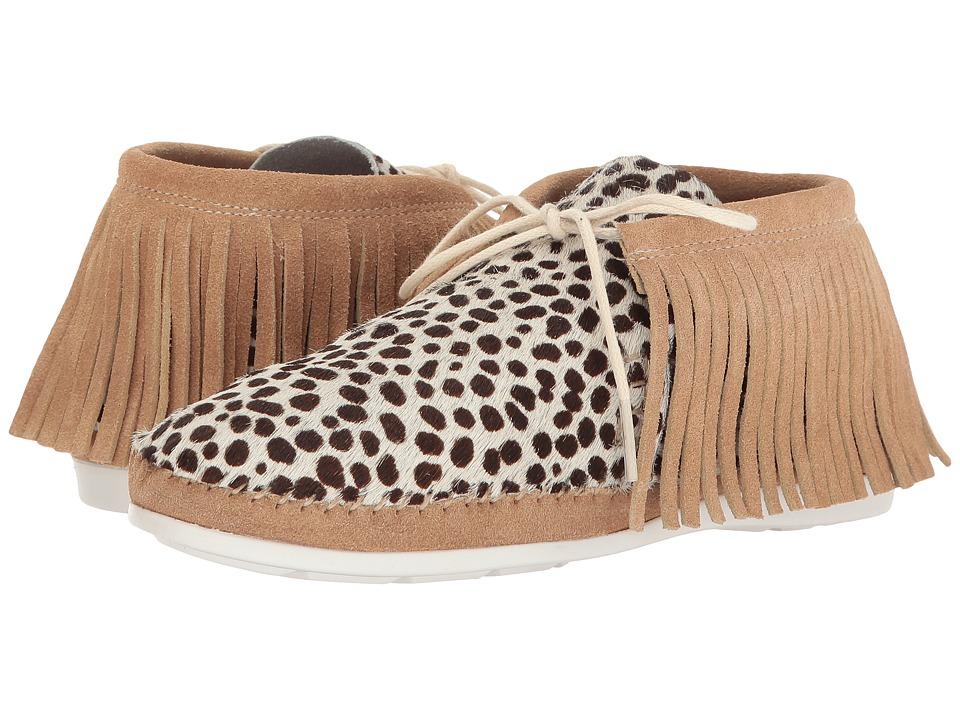 Warm Creature - Fringe (Leopard Natural) Women's Shoes