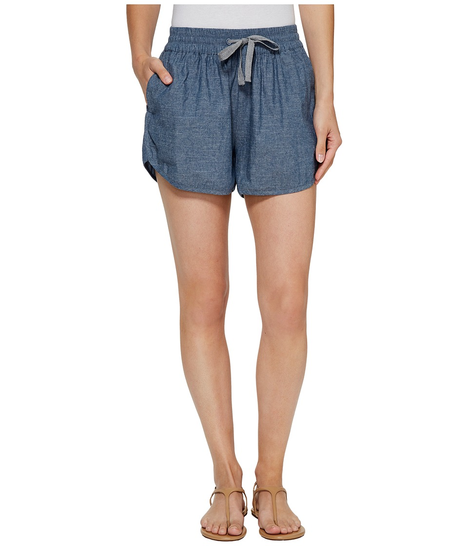 Alternative - Chambray Beach Comber Shorts (Chambray Blue) Women's Shorts