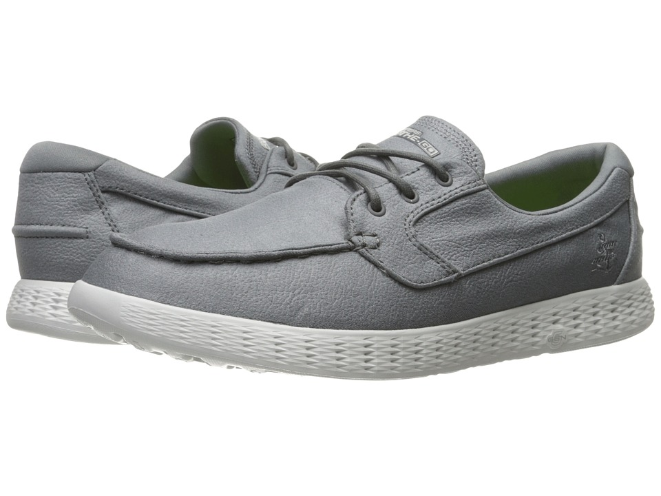 SKECHERS Performance - On-the-Go Glide (Charcoal) Men's Shoes
