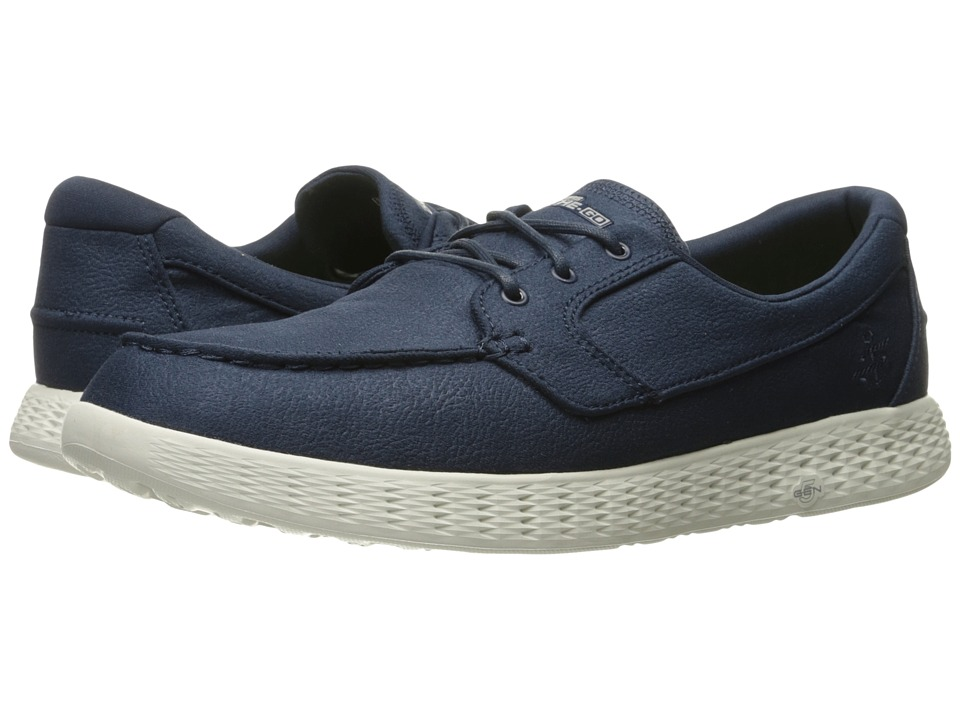 SKECHERS Performance - On-the-Go Glide (Navy) Men's Shoes