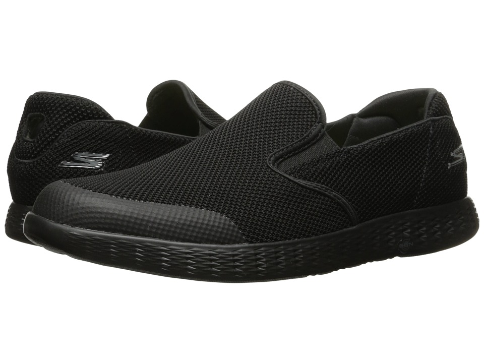 SKECHERS Performance - On-the-Go Glide (Black) Men's Slip on Shoes