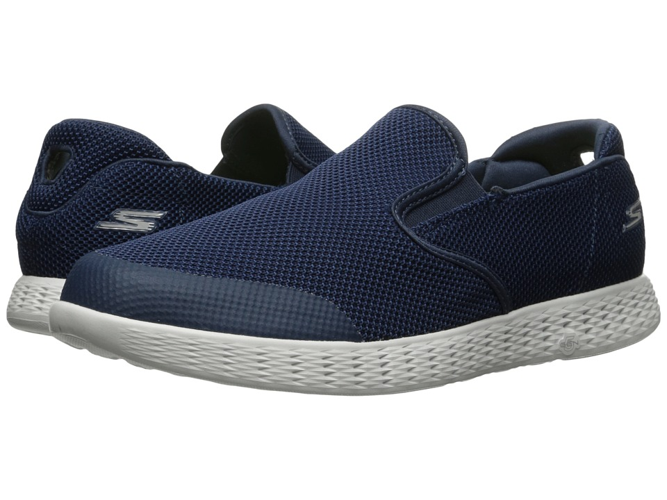 SKECHERS Performance - On-the-Go Glide (Navy) Men's Slip on Shoes