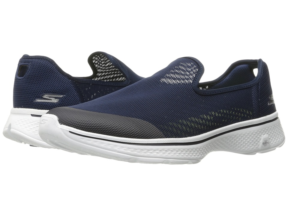 SKECHERS Performance - Go Walk 4 - Advance (Navy) Men's Walking Shoes