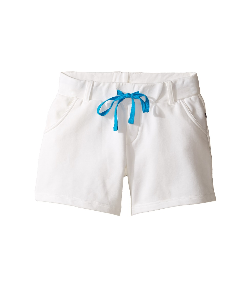 Toobydoo - Miss Shortie Shorts (Toddler/Little Kids/Big Kids) (White) Girl's Shorts